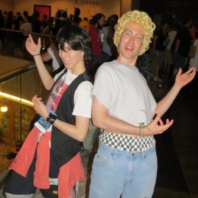Bill and Ted Cosplay