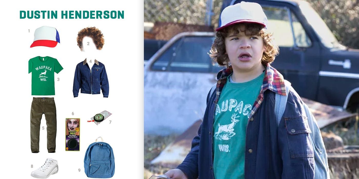 Dress Like Dustin Henderson Costume Halloween And