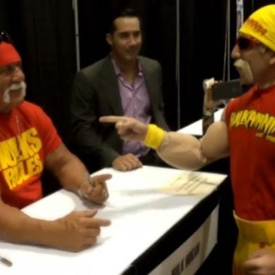 Hulk Hogan Cosplay