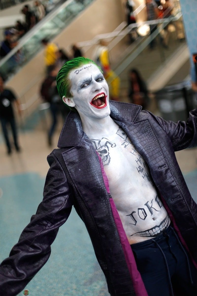 Dress Like Joker Suicide Squad Costume Diy Outfit Costume Wall
