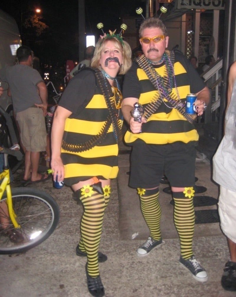 Killer Bee Punny Halloween Costume