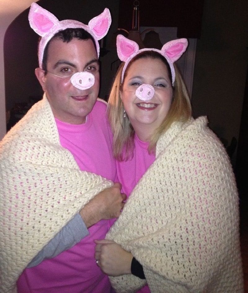 Pigs in a Blanket Punny Halloween Costume