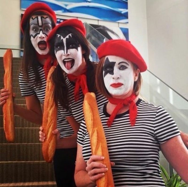 French Kiss Punny Halloween Costume