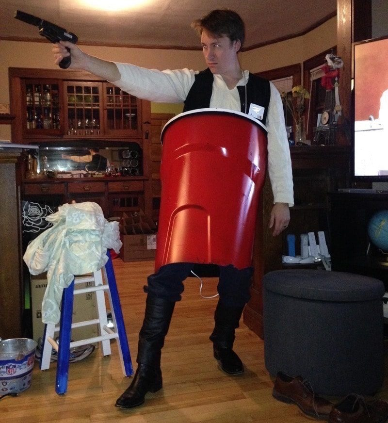 Hans Solo Cup Punny Costume
