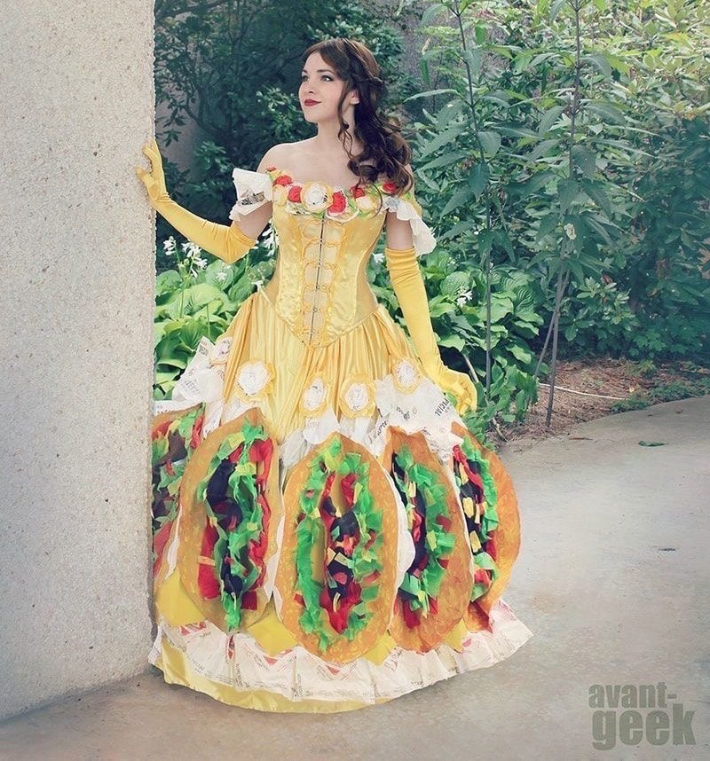 Taco Belle Punny Halloween Costume