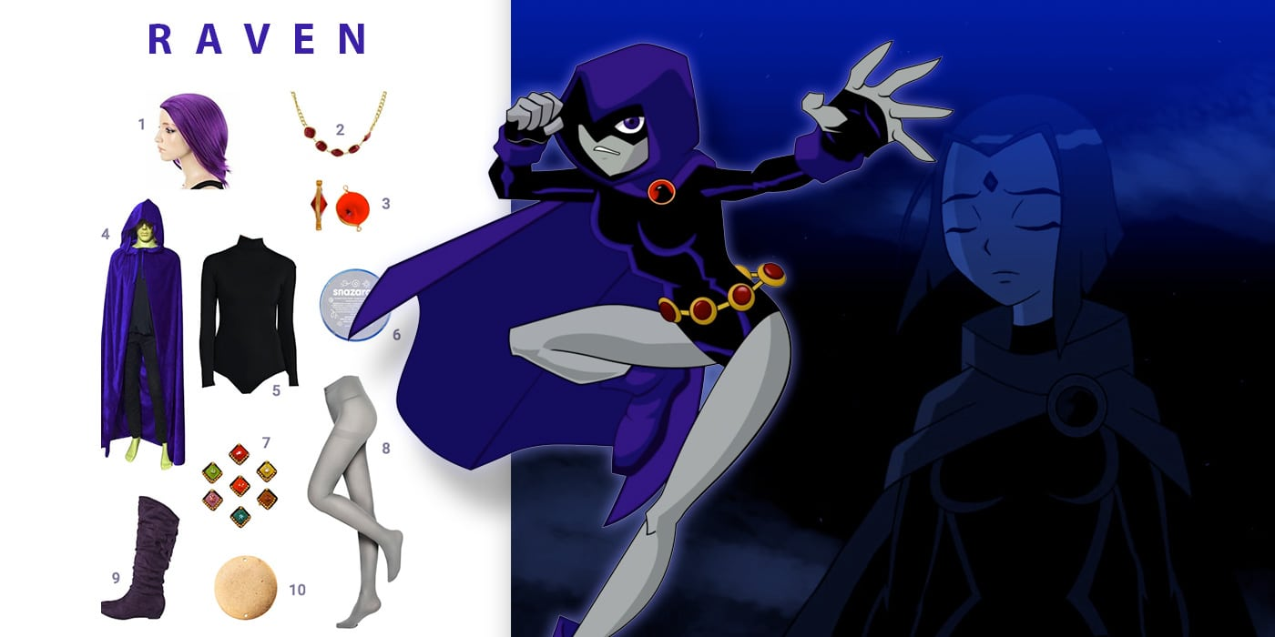 Dress Like Raven Costume  Halloween And Cosplay Guides-2460
