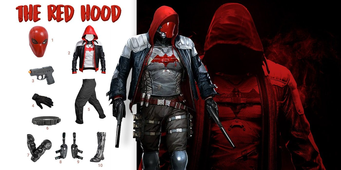 dress like the red hood costume halloween and cosplay guides