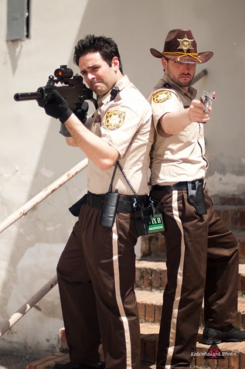Dress Like Rick Grimes Costume Diy Outfit Costume Wall