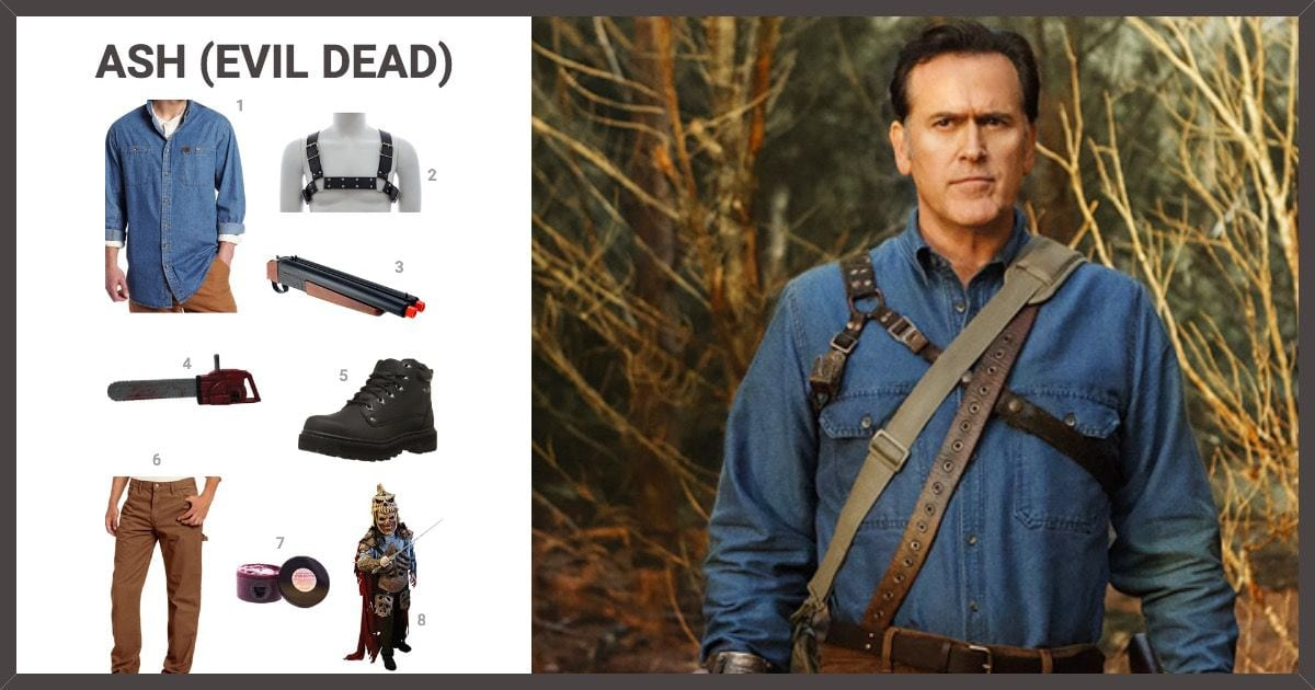 dress like ash evil dead costume halloween and cosplay guides