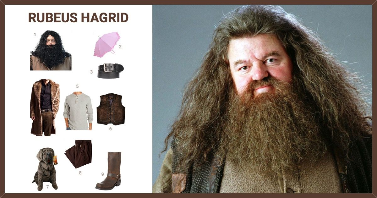 dress like rubeus hagrid costume halloween and cosplay guides
