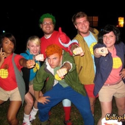 Team Captain Planet Cosplay
