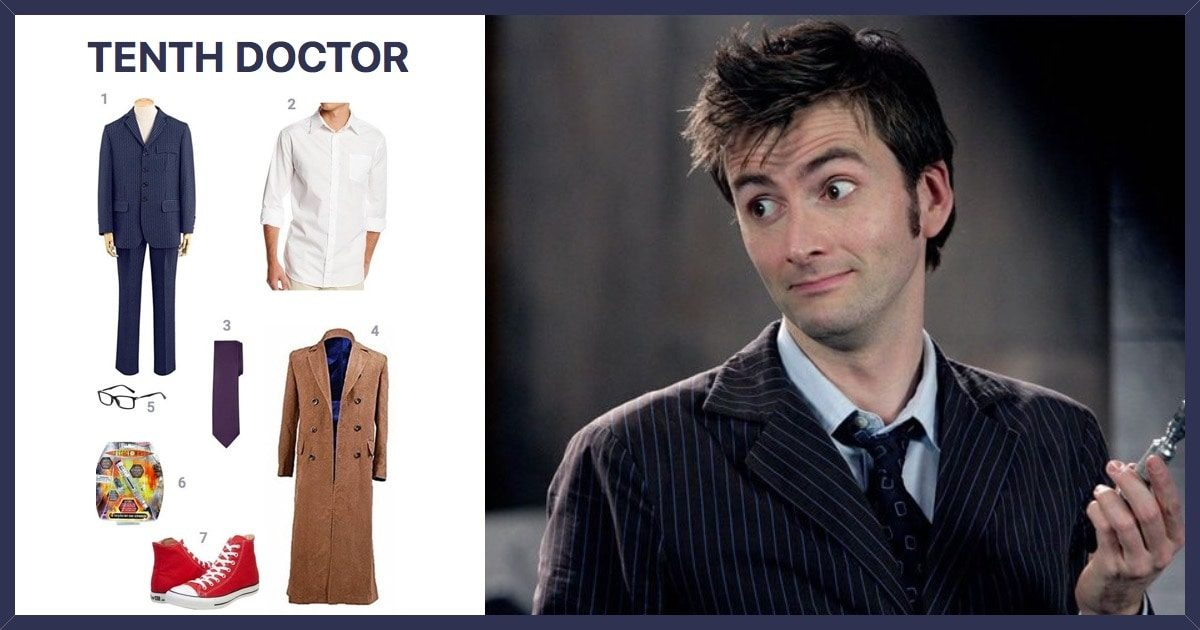 Dress Like The Tenth Doctor Costume   Halloween and Cosplay