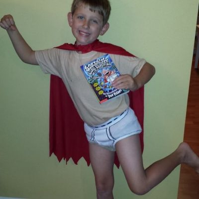 Captain Underpants Cosplay Costume Ideas