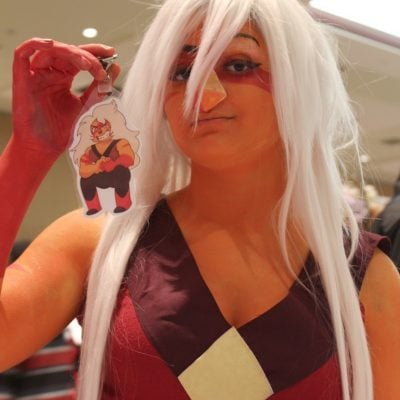 Jasper from Steven Universe Cosplay Inspiration