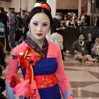 Mulan Costume from the Disney Movie