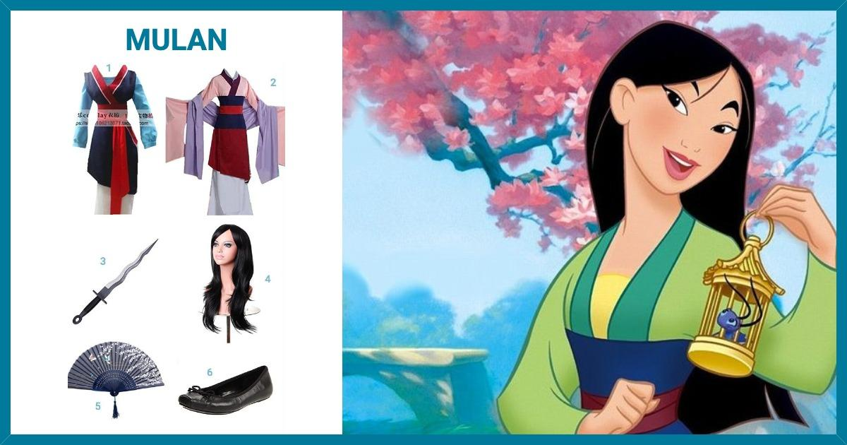 Dress Like Mulan Costume Halloween And Cosplay Guides
