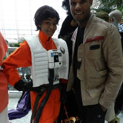 Poe Dameron Cosplay from Star Wars: The Force Awakens