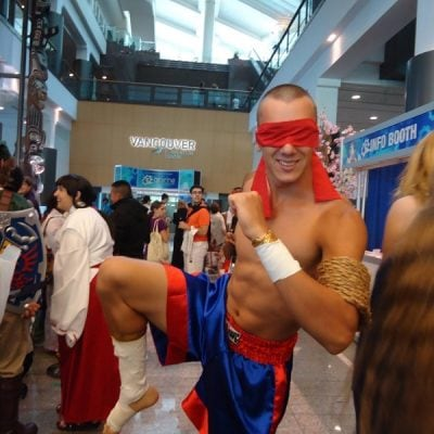 Sagat from Street Fighter - Costume Inspiration