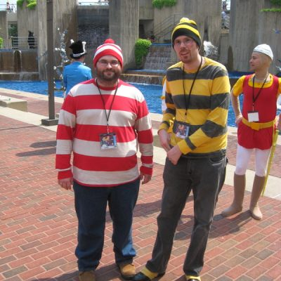 Odlaw Costume Guide from Where's Waldo