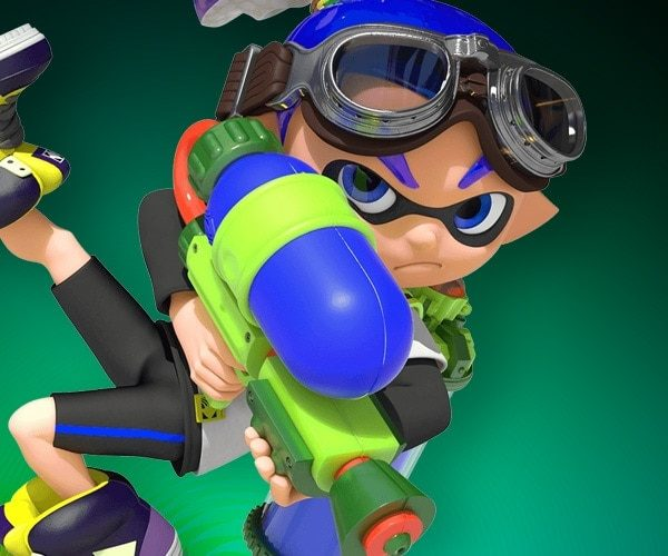 Dress Like Splatoon Inkling Boy Costume