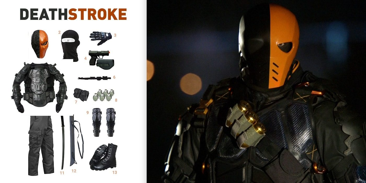 & Dress Like Deathstroke Costume | Halloween and Cosplay Guides