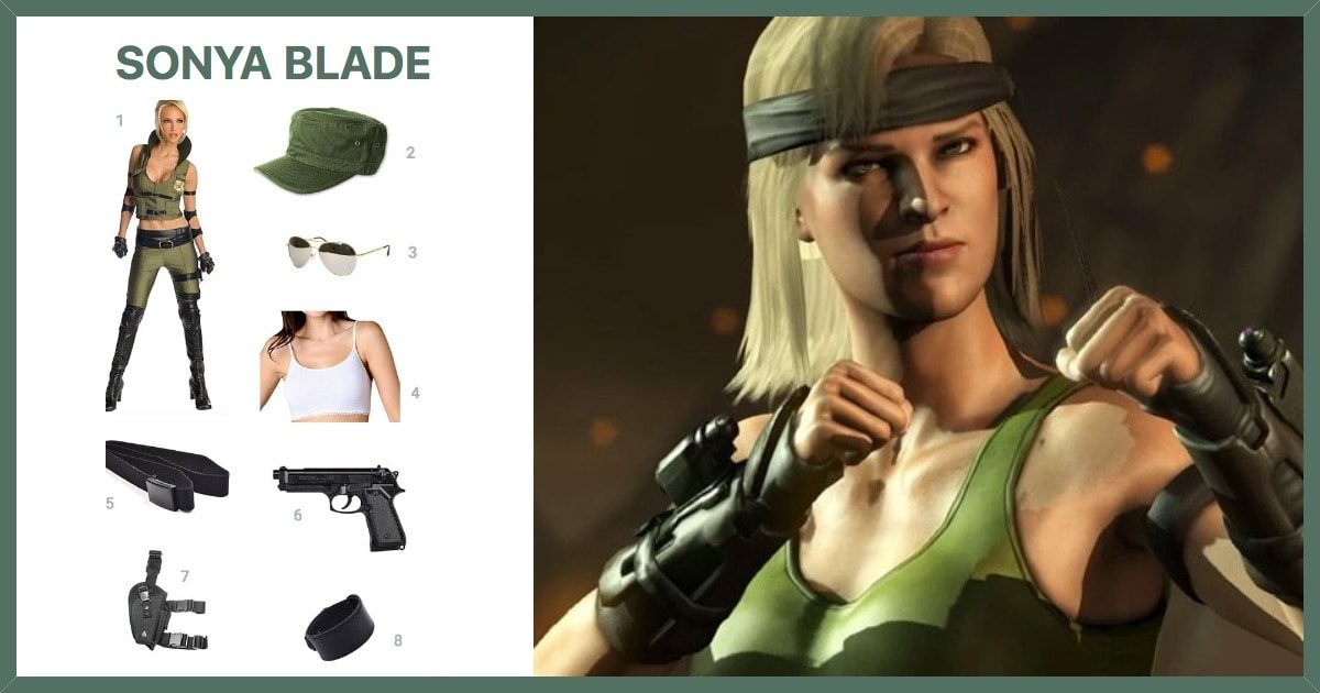 Dress Like Sonya Blade Costume Halloween And Cosplay Guides