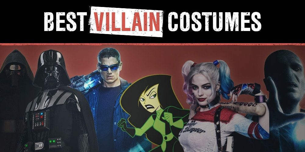 Best Villain Costumes in 2018