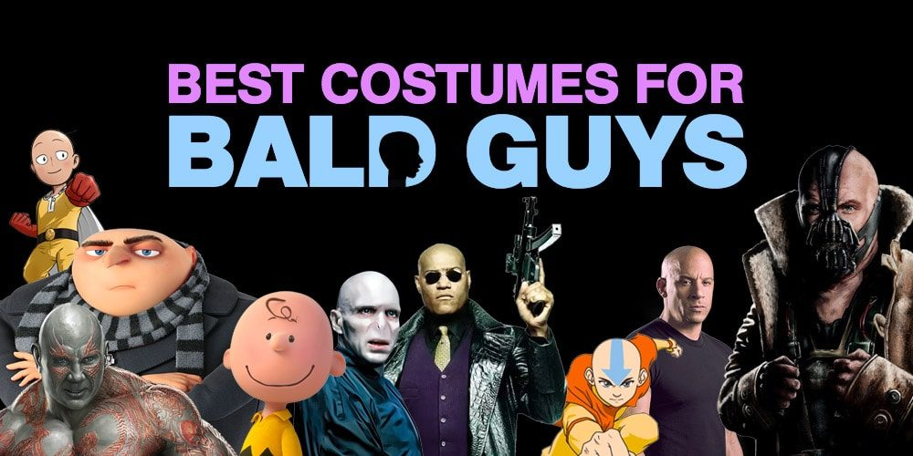 best costumes for bald guys in 2018 costume wall