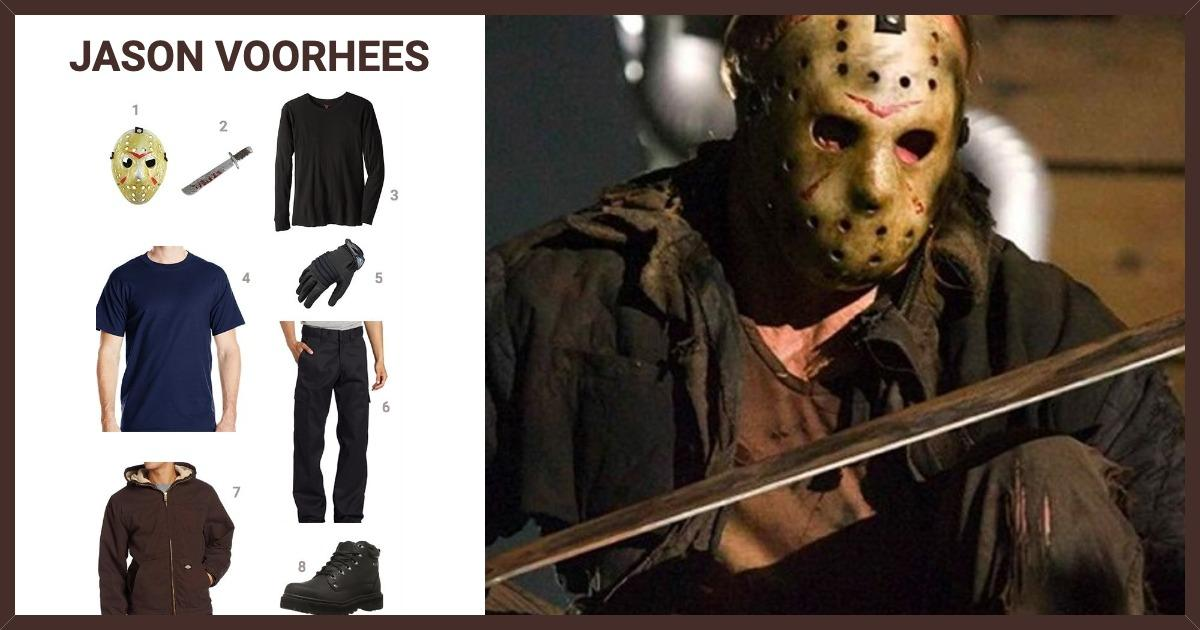 Dress Like Jason Voorhees Costume Halloween And Cosplay Guides