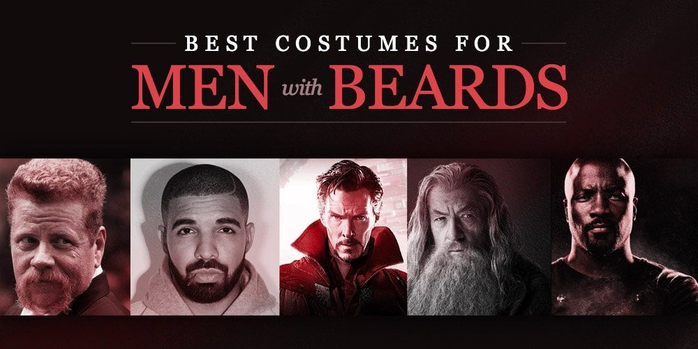 Best Costumes for Men with Beards in 2018