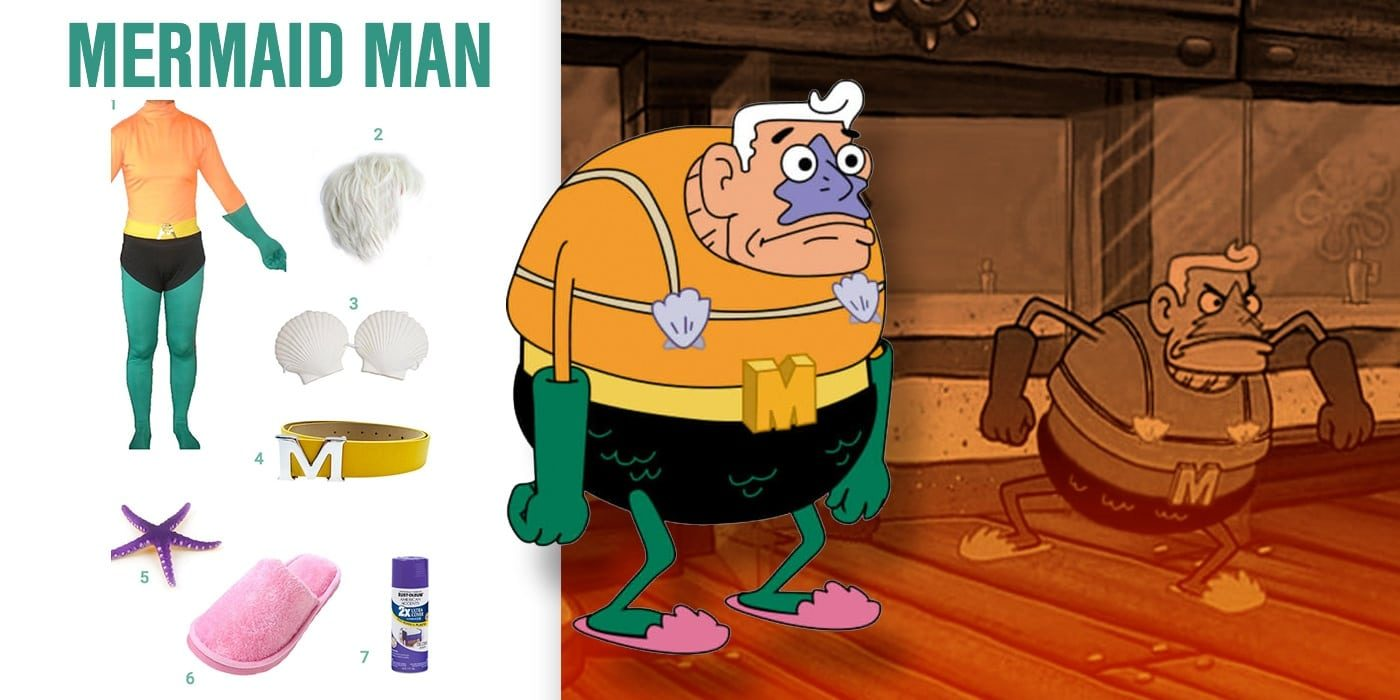 dress like mermaid man costume | halloween and cosplay guides