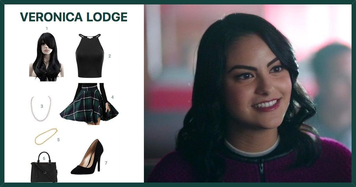 dress like veronica lodge from riverdale costume