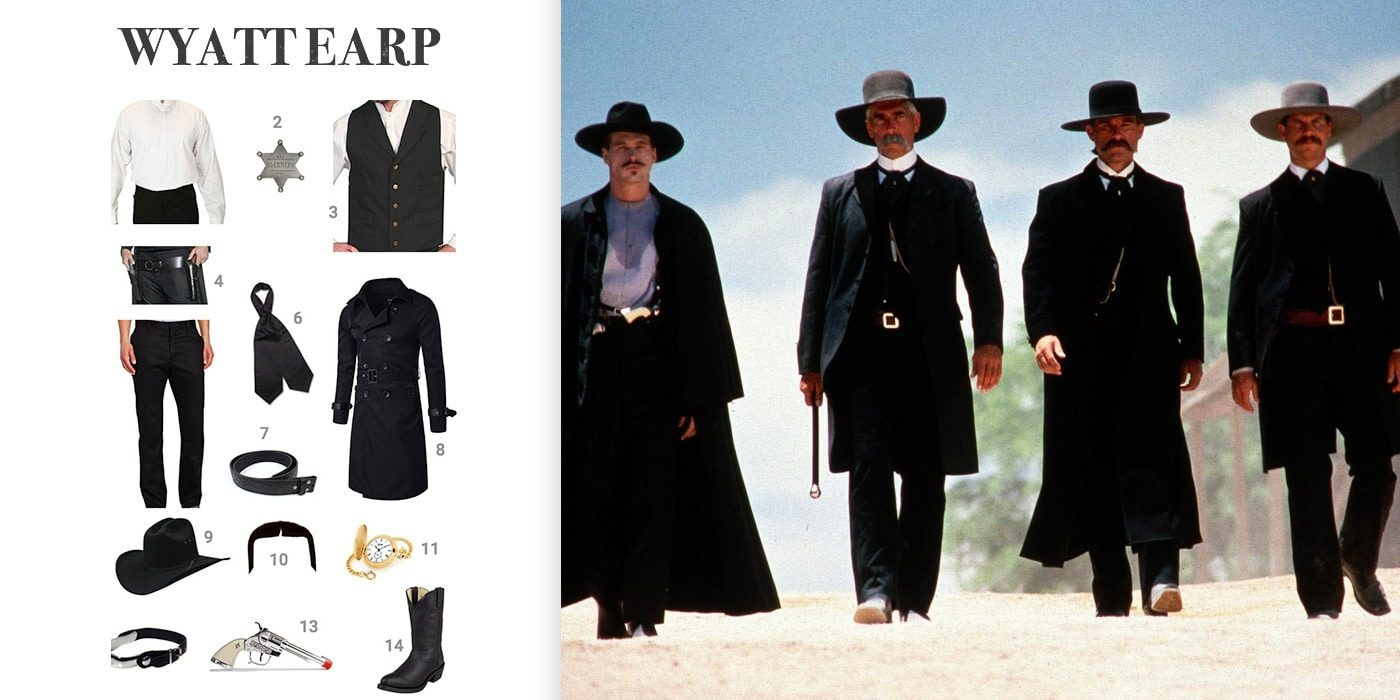 dress like wyatt earp costume halloween and cosplay guides