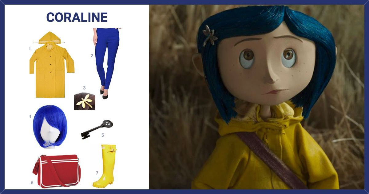 Dress Like Coraline Costume Halloween And Cosplay Guides