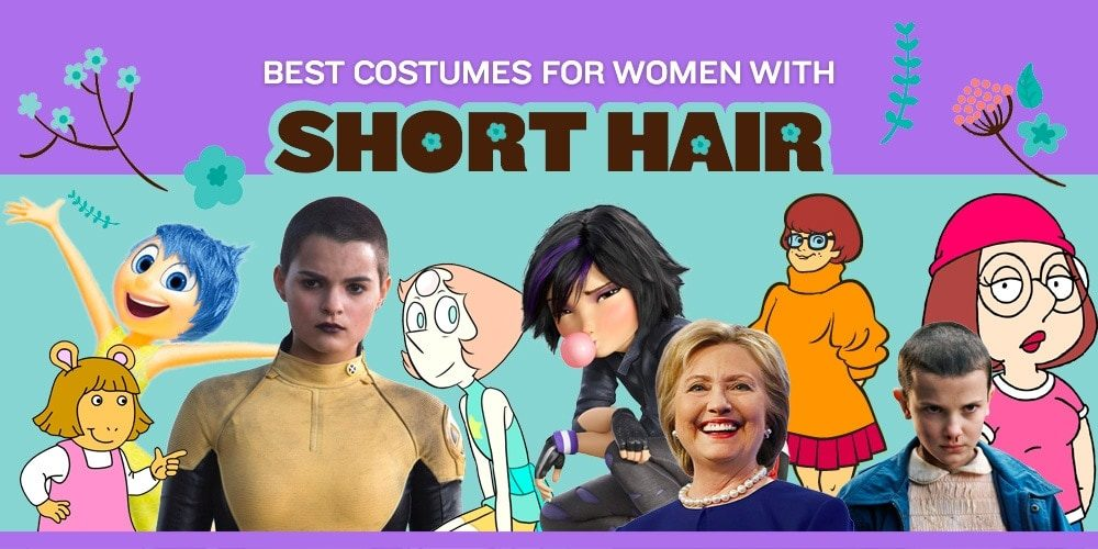 Best Costumes for Women with Short Hair in 2018