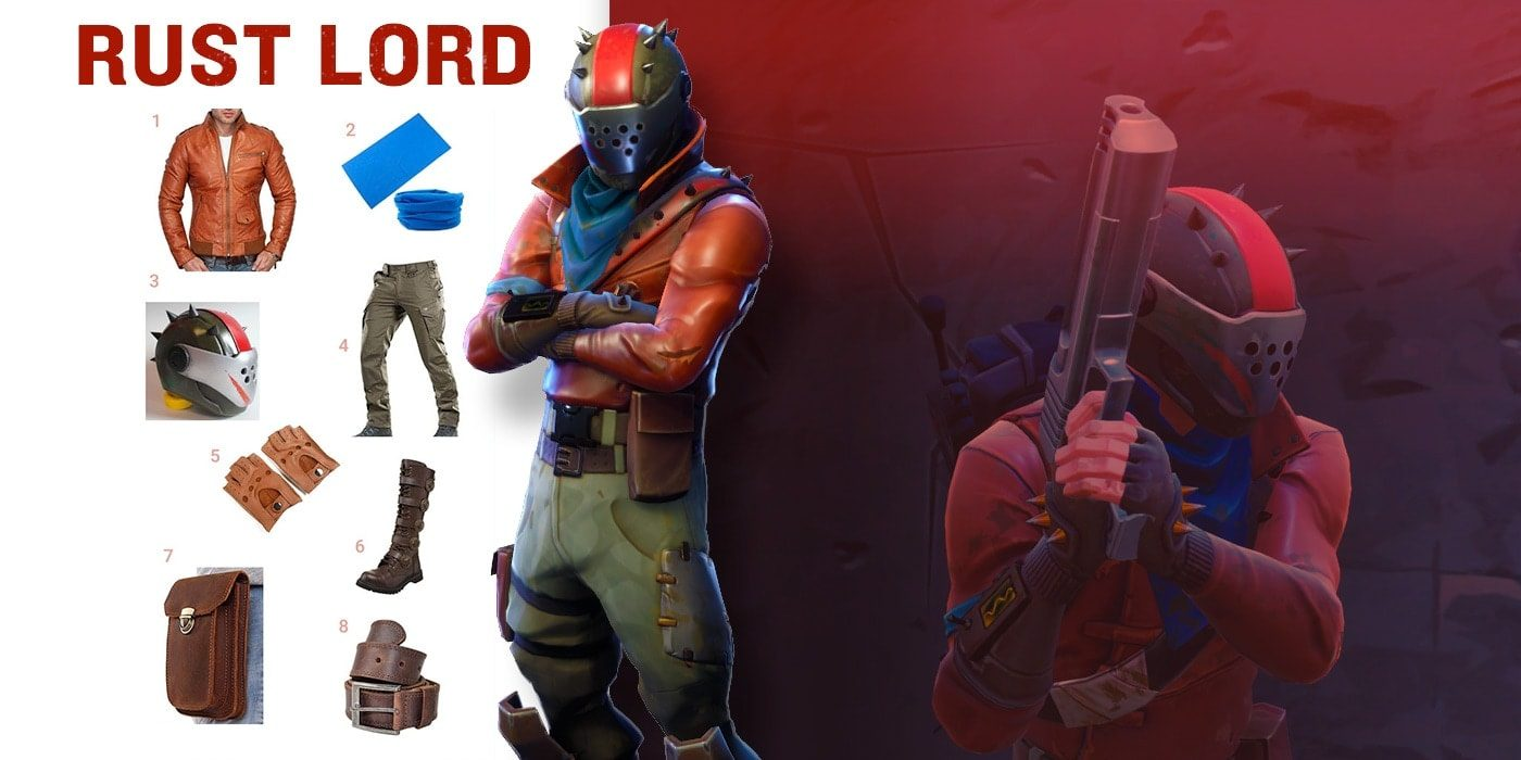Rust Lord Outfit Fortnite Wiki