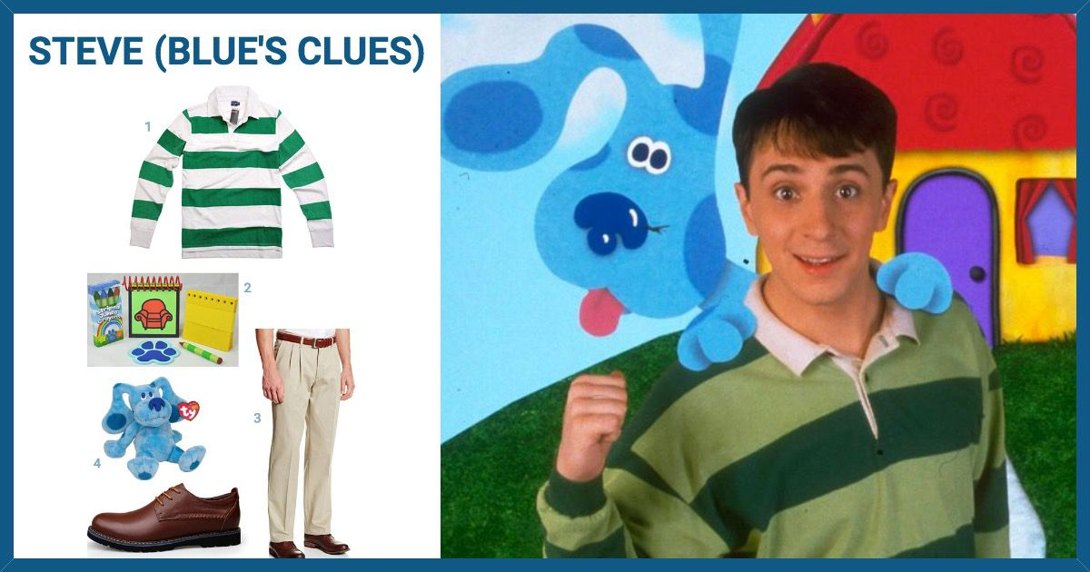 Dress Like Steve From Blues Clues Costume Halloween And Cosplay