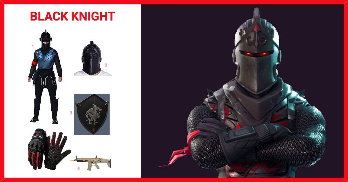 Dress Like Black Knight From Fortnite Costume Halloween And Cosplay Guides