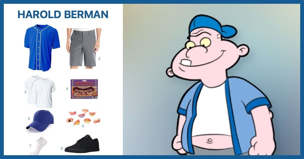 Dress Like Harold Berman Costume | Halloween and Cosplay Guides