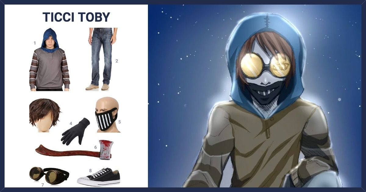 Dress Like Ticci Toby Costume Halloween And Cosplay Guides