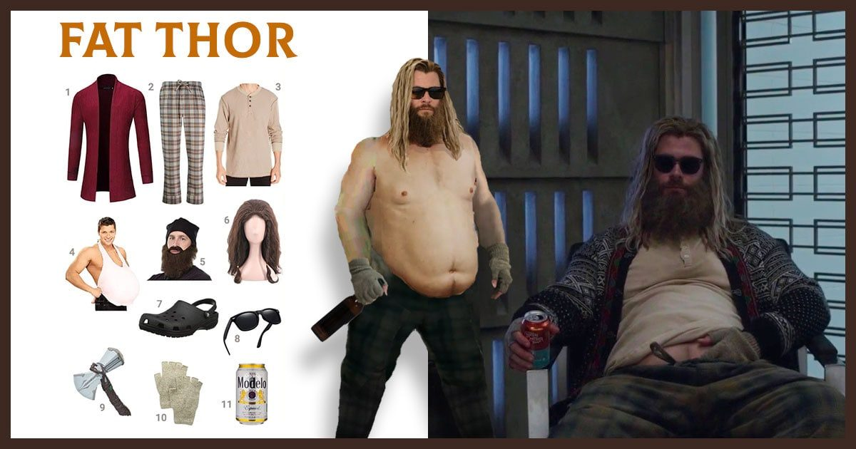 Dress Like Fat Thor Costume Halloween And Cosplay Guides