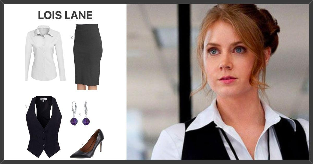 Dress Like Lois Lane Costume Halloween And Cosplay Guides