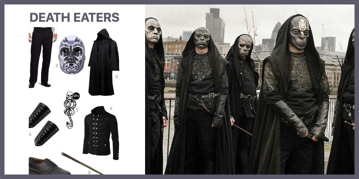 Dress Like Death Eaters Costume Halloween And Cosplay Guides