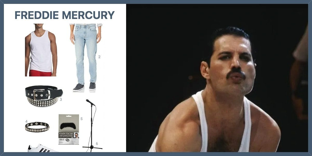 dress like freddie mercury costume halloween and cosplay guides dress like freddie mercury costume